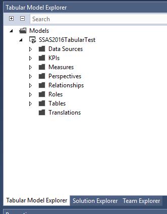 Tabular Model Explorer for SSDT | Insight Quest