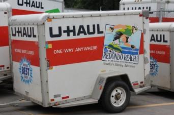 UHaul Trailer