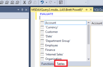 DAX Support in SSMS v17 0   Insight Quest