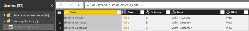 SQL Server Staging Query