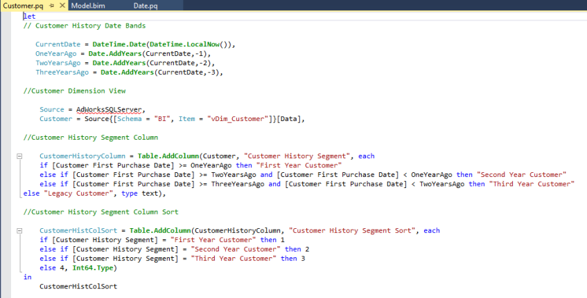 Customer in Power Query SDK for Visual Studio | Insight Quest
