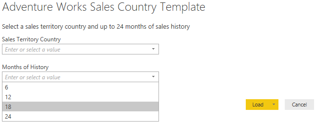 Power BI Report Template