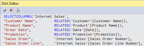 Drillthrough to Detail Rows: Paginated Reports – Insight Quest