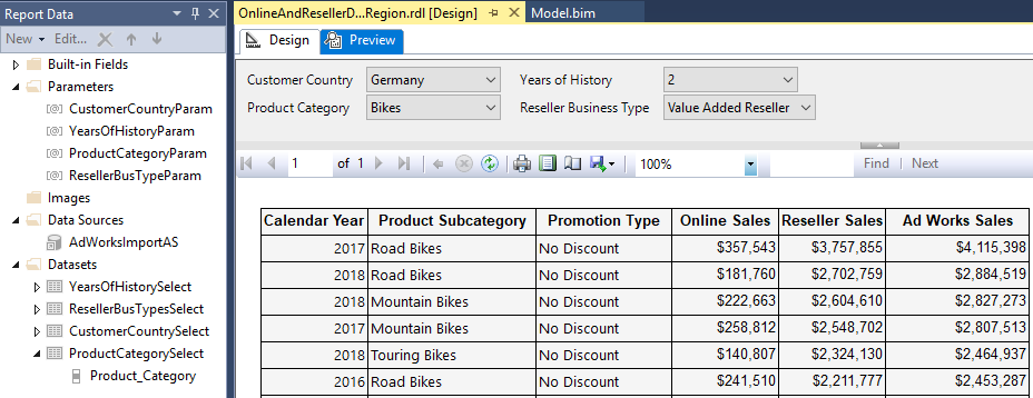 Migrate Multi-Schema DAX Query to Paginated Report – Insight Quest