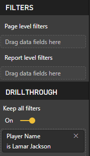 Drillthrough Page