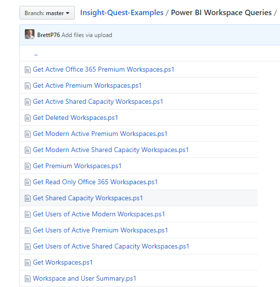 Power BI Workspace Scripts   Insight Quest